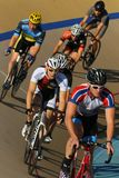 赞成自行车比赛 免版税图库摄影
