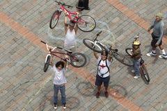赞成自行车 图库摄影