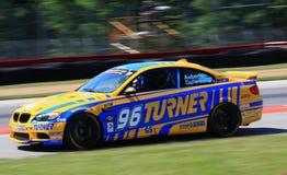 赞成赛跑的BMW 免版税图库摄影