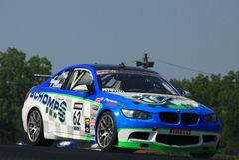 赞成motorsports赛跑 免版税图库摄影