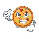 赞许薄饼字符动画片样式 皇族释放例证