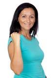 赢利地区妇女 免版税库存图片