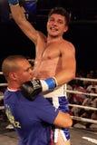 赢利地区职业拳击 免版税库存图片
