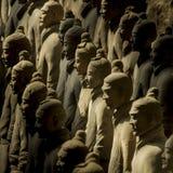 赤土陶器军队 图库摄影
