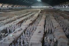 赤土陶器军队 免版税图库摄影
