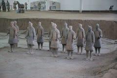 赤土陶器军队 库存图片