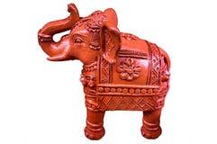 赤土陶器大象 免版税库存图片