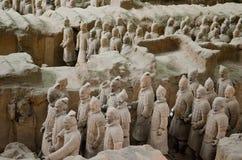赤土陶器战士博物馆在羡 免版税库存照片