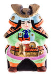 赤土陶器日本人武士 库存图片