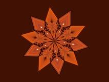 赤土陶器星 库存图片