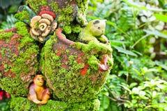 赤土陶器玩偶 免版税图库摄影
