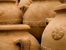 赤土陶器罐 库存图片
