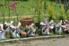赤土陶器风车 库存照片