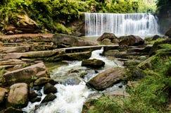 赤水有美丽的山,美好的风景,森林覆盖面,在贵州 免版税库存照片