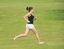 赤脚nairn赛跑者 库存图片