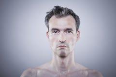 赤裸的人 免版税库存照片