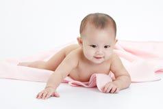 赤裸的婴孩 免版税图库摄影
