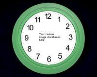 赤裸的时钟 免版税图库摄影