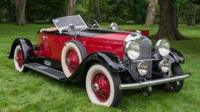 1929赤褐色尾锥部Speedster, EyesOn设计, MI 免版税库存照片