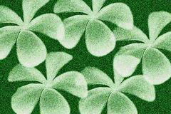 赤素馨花花有绿色背景 免版税图库摄影