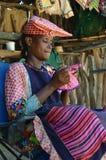 赫勒娄族妇女,纳米比亚 库存照片