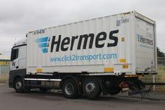 赫姆斯拖车 免版税库存图片