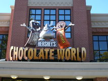 赫尔希, Penn巧克力冒险乐趣甜点 库存照片