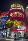 赫尔希` s巧克力世界 免版税图库摄影