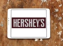 赫尔希` s巧克力商标 免版税库存图片