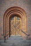 赫尔新哥城镇厅门 免版税库存照片