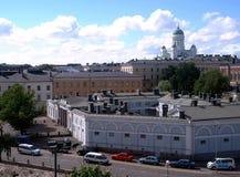 赫尔辛基全景 免版税库存图片