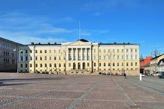 赫尔辛基参议院 免版税库存照片