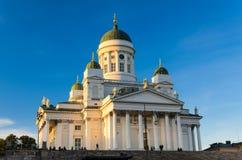 赫尔辛基大教堂,芬兰 库存照片