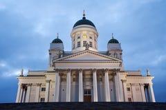 赫尔辛基大教堂 免版税库存图片