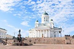 赫尔辛基大教堂 库存照片