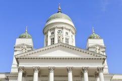 赫尔辛基大教堂 库存图片