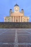赫尔辛基大教堂 图库摄影