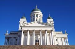 赫尔辛基大教堂 免版税库存照片