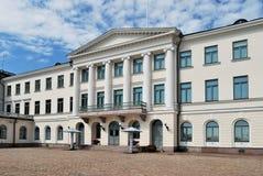 赫尔辛基宫殿总统 图库摄影