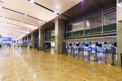 赫尔辛基机场内部 图库摄影