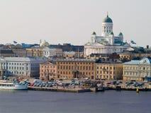 赫尔辛基端口 免版税库存图片