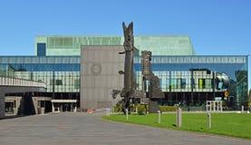 赫尔辛基音乐中心 免版税库存照片