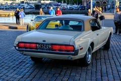 赫尔辛基,芬兰, 2017年6月02日,老汽车水星 图库摄影