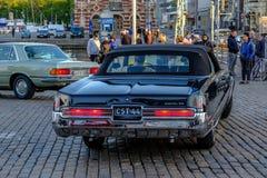 赫尔辛基,芬兰- 2017年6月02日-老汽车Electra 免版税图库摄影