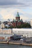 赫尔辛基,年港口2011年 免版税库存照片
