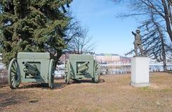 赫尔辛基 芬兰 Hil 13雕塑构成 免版税库存照片