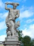 赫拉克勒斯和九头蛇 免版税库存照片