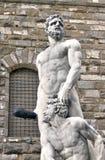 赫拉克勒斯和Cacus在佛罗伦萨。 意大利 免版税库存照片