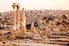 赫拉克勒斯寺庙  免版税图库摄影