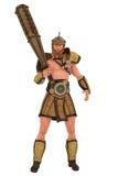 赫拉克勒斯希腊半神半人 免版税库存照片